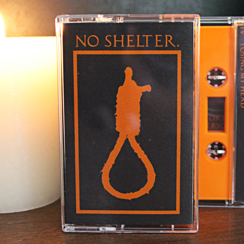 NO SHELTER. Demo-Tape, lim.